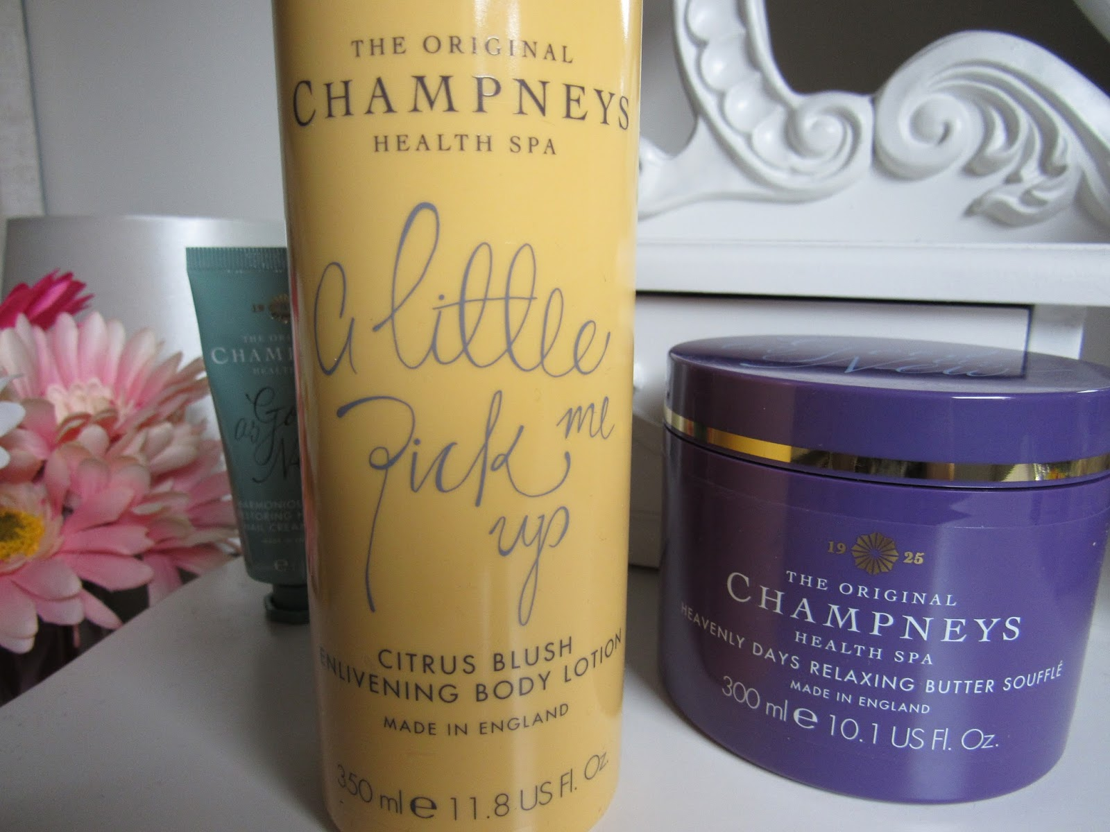 Blooming Fiction lifestyle blog, Champneys beauty products