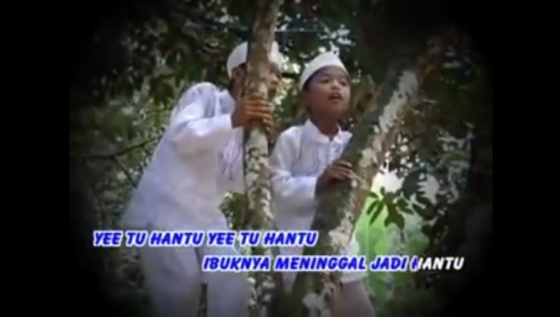 Azaz dan Fikri dalam lagu Ye Tu Hantu