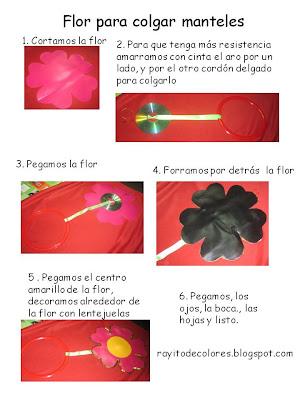 colgador flor pasos