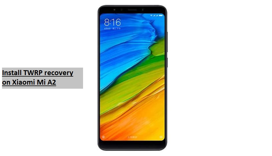 Install TWRP recovery on Xiaomi Mi A2