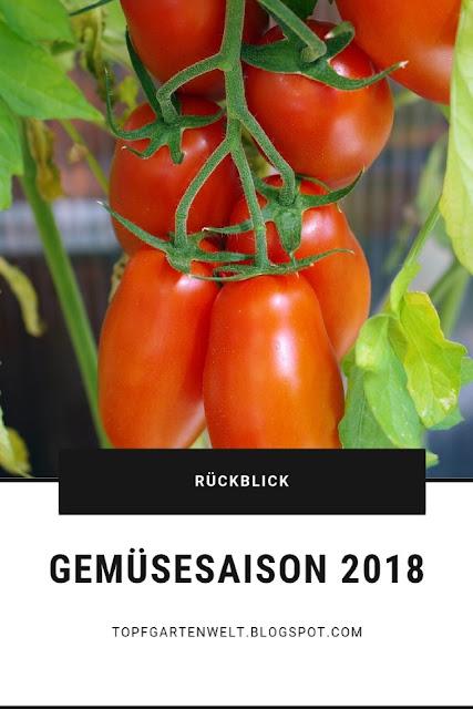 Rückblick auf die Gemüsesaison 2018 mit Tipps für das kommende Jahr #gemüse2018 #gemüsegarten #planung2019 #selbstversorger #selbstversorgt #gemüsegarten2018 #rückblick - Gartenblog Topfgartenwelt