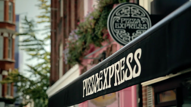 pizza express victoria street #bloggerlunch