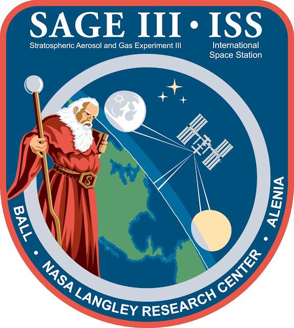 SAGE III/ISS mission logo. Image Credit: NASA