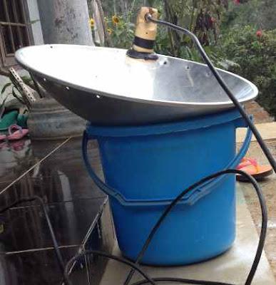 Cara Membuat Parabola Dari Wajan Dapur