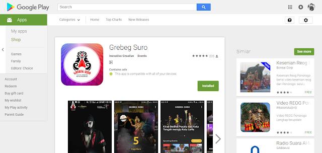 Grebeg Suro Apps: Sajian Terlengkap Grebeg Suro Ada Disini