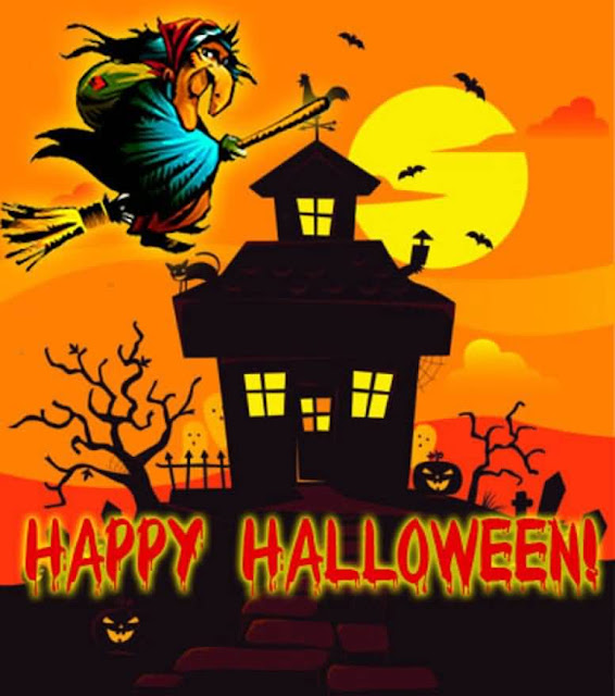 Happy Halloween 2016 wishes images for Viber Line Imo video chat app