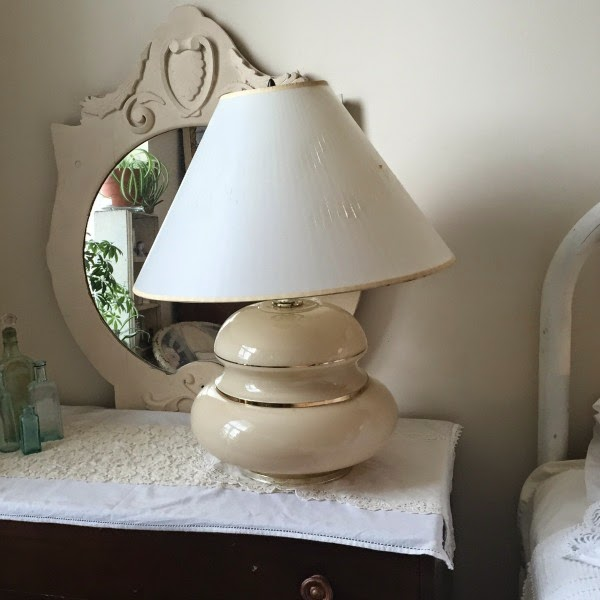 vintage dresser bedside table
