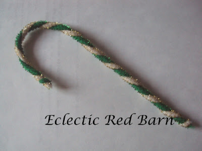 pipe cleaners for candy canes