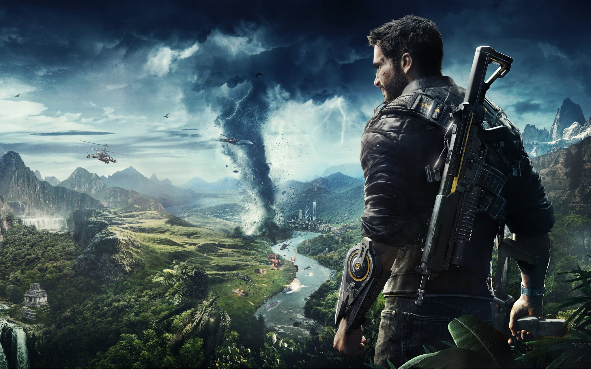 Just Cause 4 Xbox One PlayStation 4 PC Game