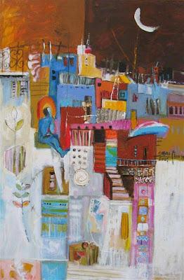 Peinture du dimanche ( Khouloud Sibaï - Syrie ) dans - DESSIN - IMAGE - PEINTURE a2