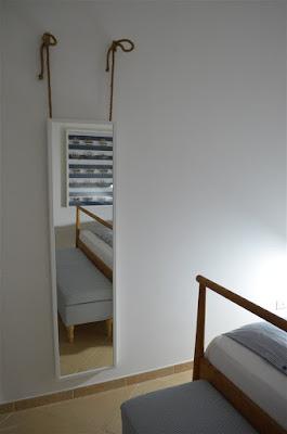 sypialnia, styl marynarski, styl marinistyczny, ikea