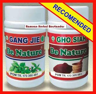 Obat Kencing Nanah Gangjie dan Ghosiah De Nature