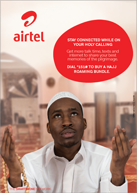Airtel Ghana Launches Special Hajj Bundles Offering 200% Discounts And Free Calls For Hajj Pilgrims