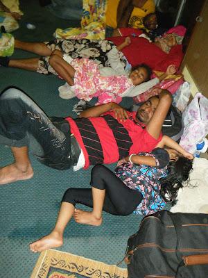 Fijians resting