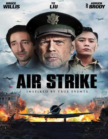 Air Strike (2018) English 720p HDRip 300MB Full Movie Download
