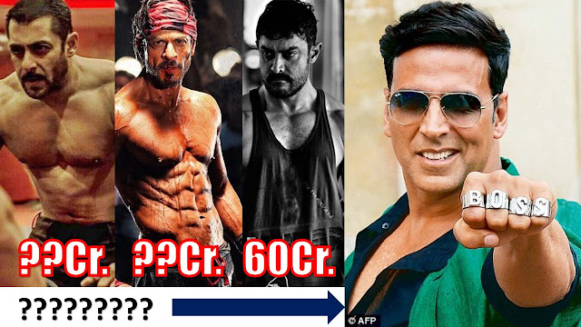 Top 5 Highest paid Bollywood