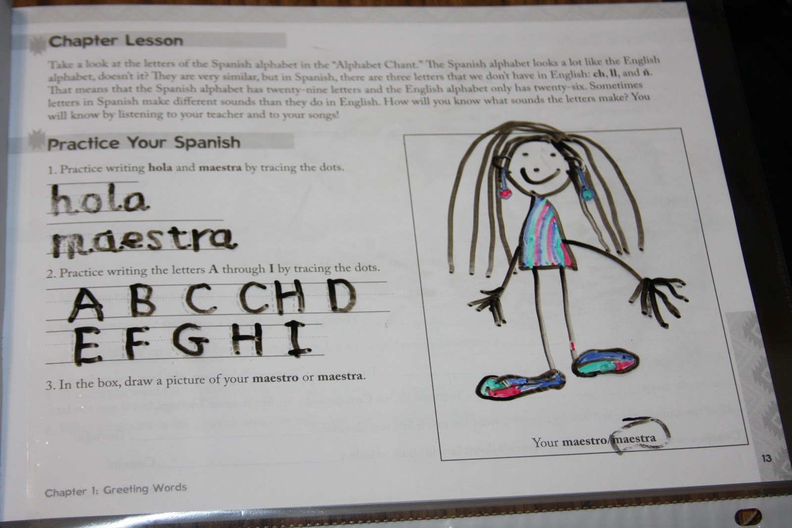 Workbooks workbook in spanish three years : A Learning Journey: Schoolhouse Review: Song School Spanish