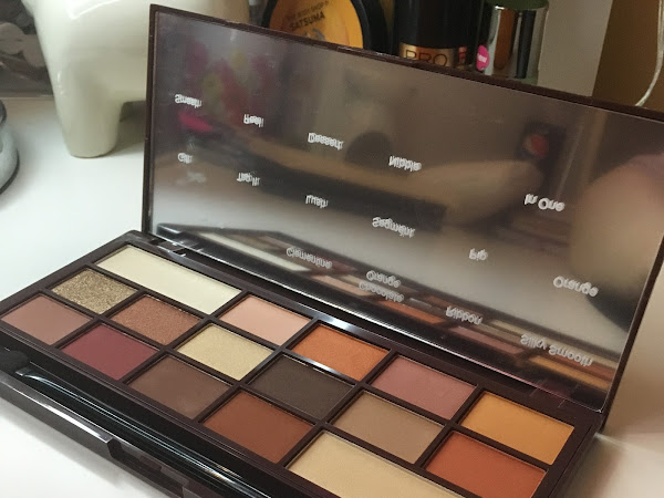 Product Review: I Heart Revolution Chocolate Orange Palette