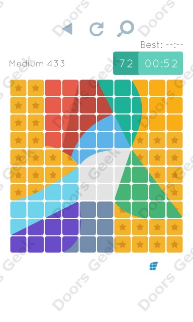 Cheats, Walkthrough for Blocks and Shapes Medium Level 433