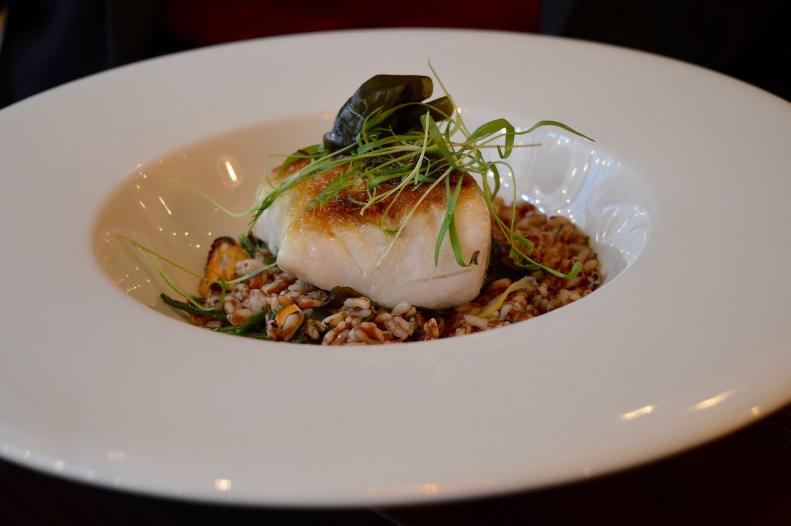 Dobson and Parnell Newcastle Menu Review  - Pan fried black cod