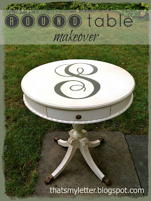 round table makeover