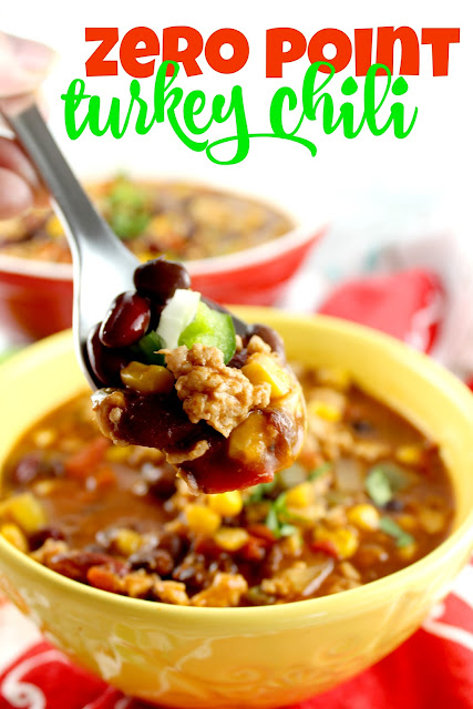 zero point weight watchers turkey chili