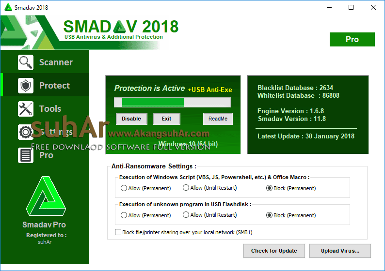 Gratis Download Smadav 2018 Pro Final Full Crack Terbaru, Smadav Pro 2018 Full Keygen, Smadav Pro 2018 Full Serial Number, Smadav Pro 2018 Plus Serial Key, Smadav Pro 2018 Plus License Key