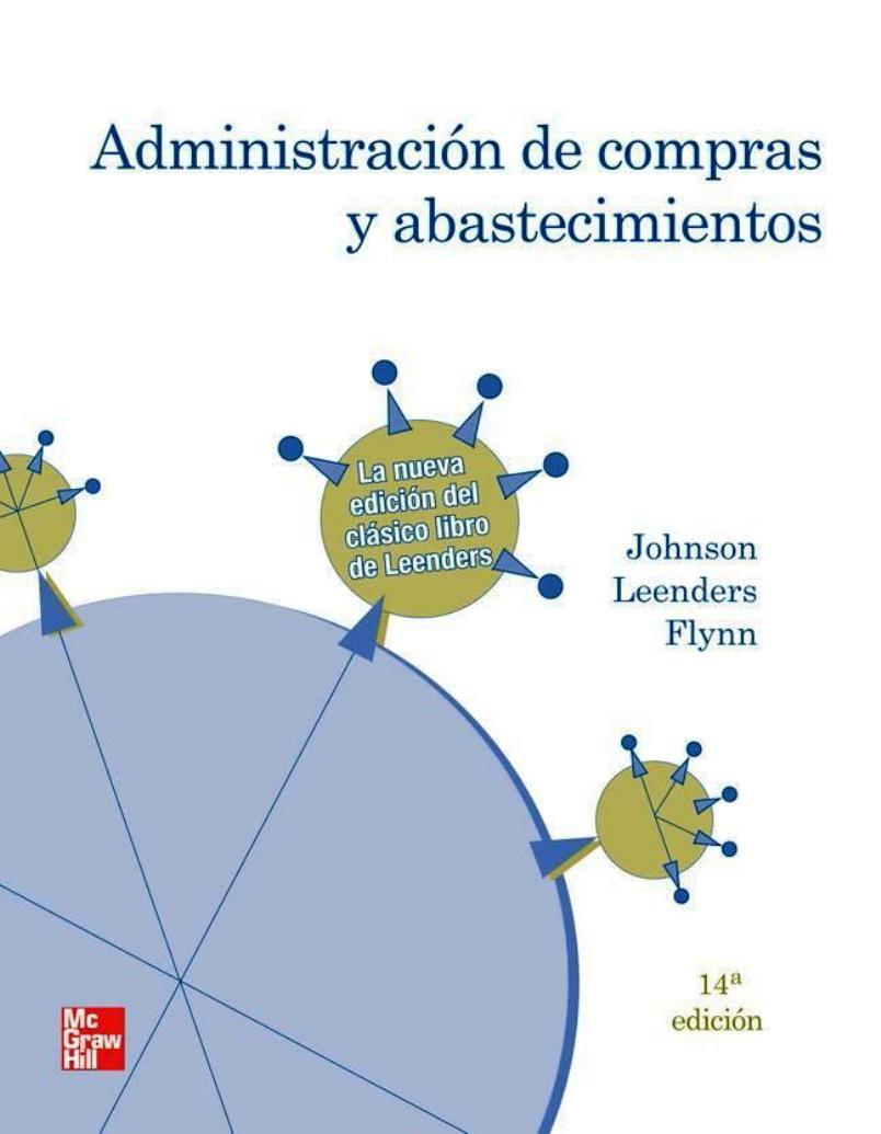 Administración de compras y abastecimientos, 14va Edición – P. Fraser Johnson