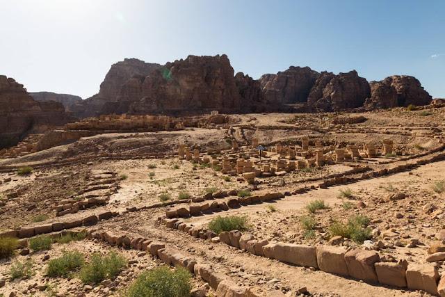 Templo de los Leones Alados de Petra