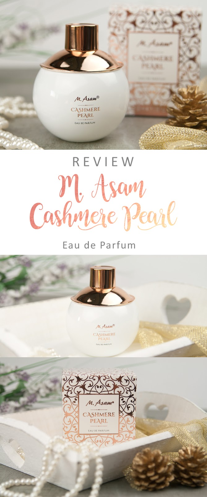 m asam cashmere pearl parfum review werbung. Black Bedroom Furniture Sets. Home Design Ideas