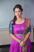 Shilpa Chakravarthy in Purple tight Ethnic Dress ~  Exclusive Celebrities Galleries 046.JPG