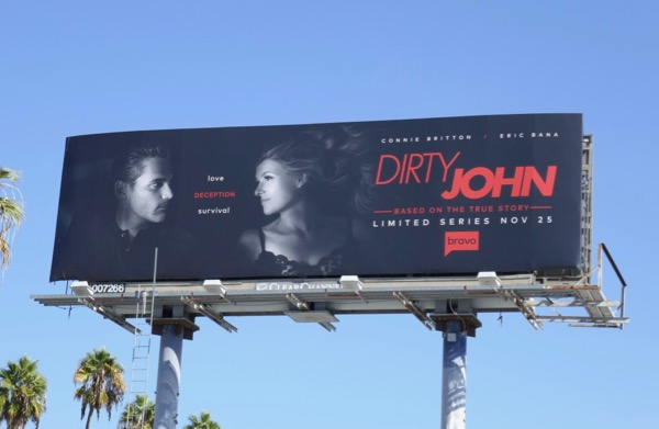 Dirty John Bravo series billboard