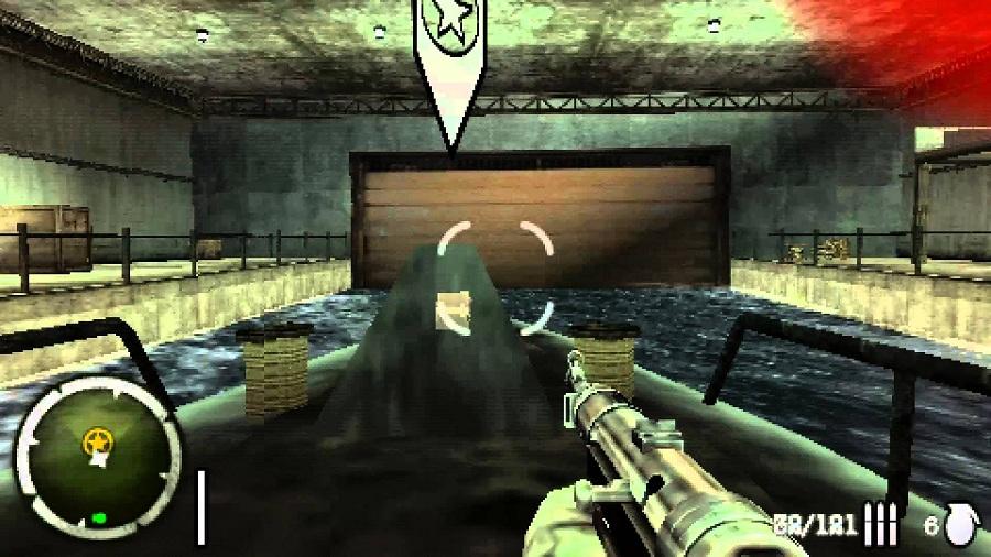 Daftar Kumpulan Game 3D FPS Tembak Tembakan Di PSP PPSSPP (Gameplay) : Medal of Honor Heroes 2