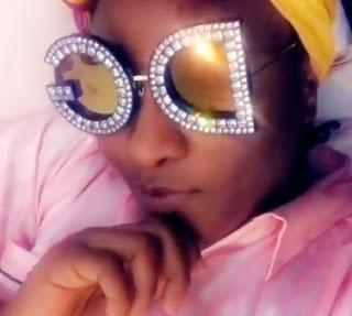 ini edo dg crystal sunglasses