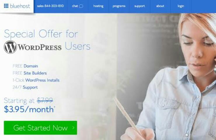 Dapatkan Domain .com Gratis Dengan Bluehost