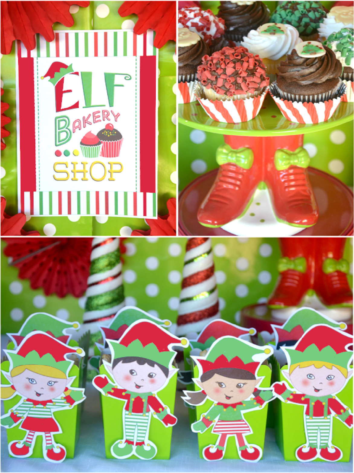 Elf Holiday Cookie Decorating Party