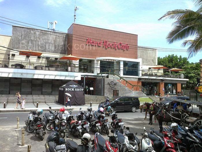 Hard Rock Café, part of the attraction in Kuta