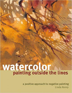 Book Review on Watercolor painting outside the lines by Linda Kemp