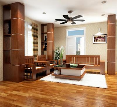 Có nên sử dụng sàn gỗ dán mặt cho không  gian thiết kế