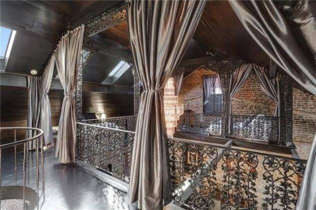 a casa incrivel de Lenny Kravitz 11 - As aparências enganam. Esta casa impressiona pelo seu interior.