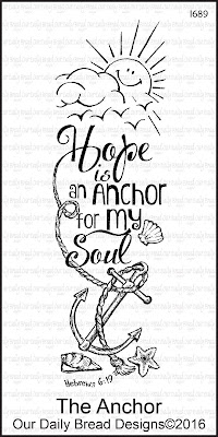Our Daily Bread Designs Stamp: The Anchor