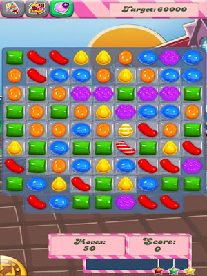 download Game Permen Warna-warni Candy Crush Saga terbaru 2016
