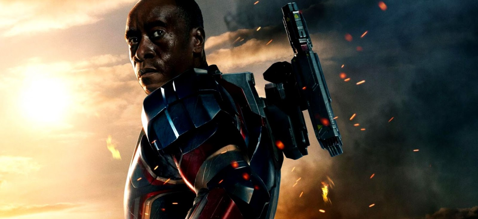 Iron Man 3 James Rhodes As Iron Patriot Hd Wallpaper Wallpapers
