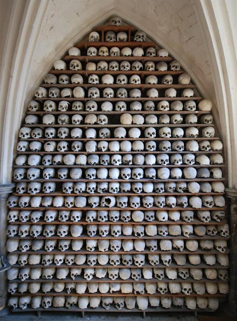 Human skulls stolen from church crypt in southern England