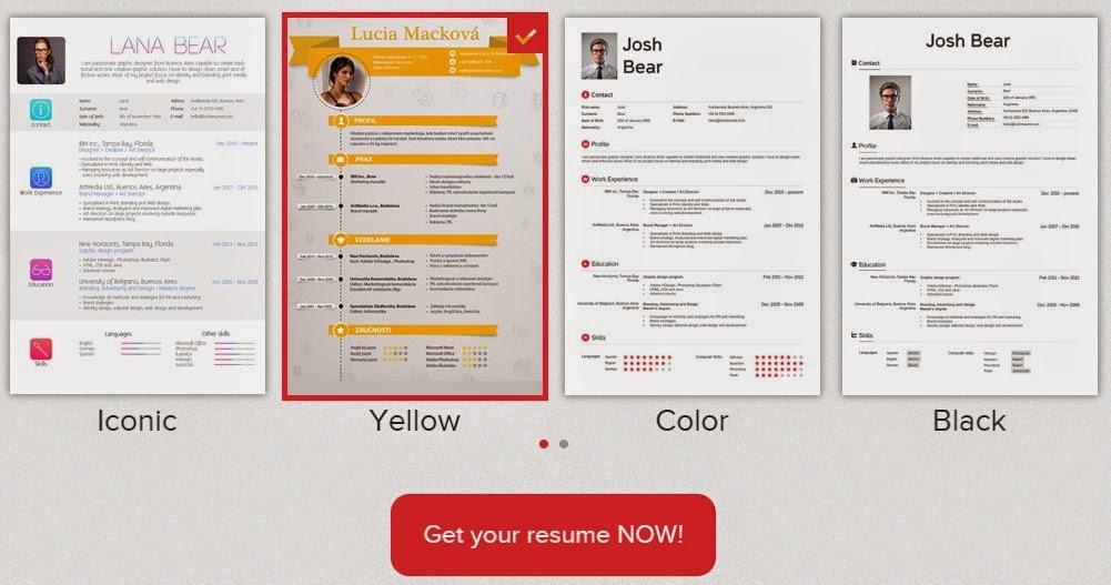 Cara Membuat Resume / CV Menarik Secara Online - Tips Trik