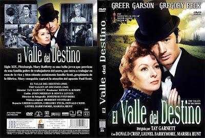 Carátula dvd: El valle del destino