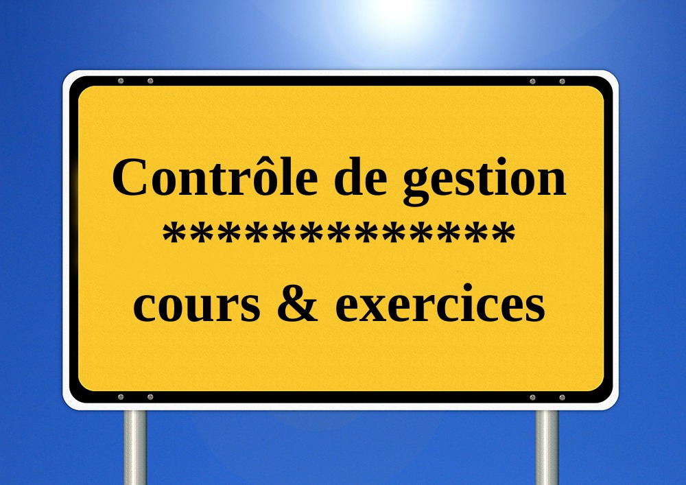 Controle De Gestion Exercice Corrige Pdf Eco Pro