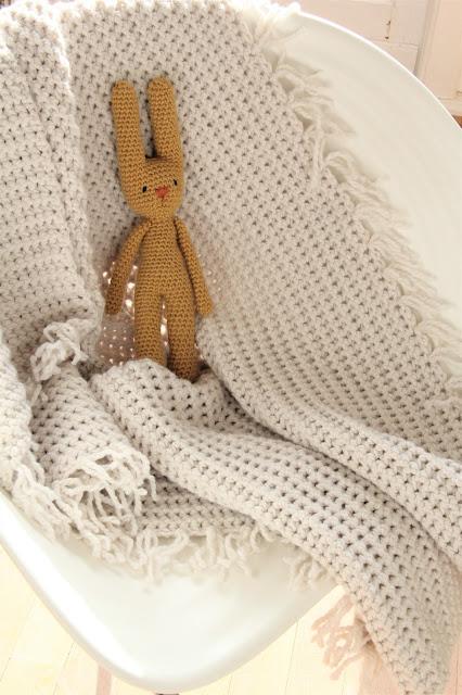 babydeken, babykamer accessoire, Gehaakt, Gehaakt/ crochet, vasten paarsgewijs, Gratis patronen, handwerken, Julia haakgaren, Studio Mojo,  Zeeman,