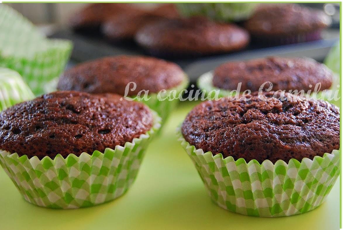 Muffins de cacao soluble (La cocina de Camilni)