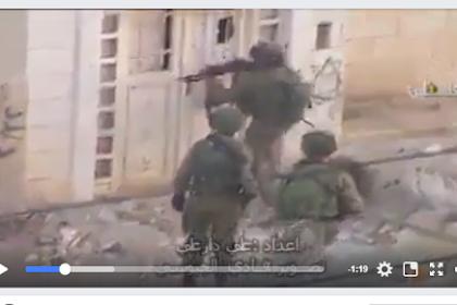 Video: Insiden Memalukan bagi Tentara Zionis Israel! Tak Mampu Mendobrak Sebuah Pintu dalam Upaya Penyergapan di Palestina